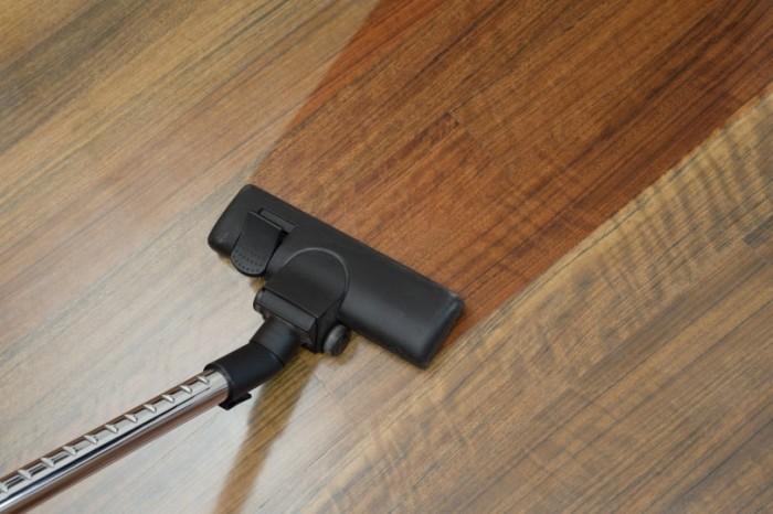 wood floor clean